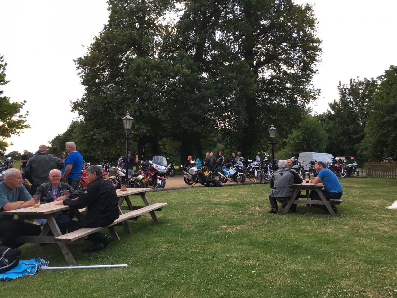 biker meetup conington