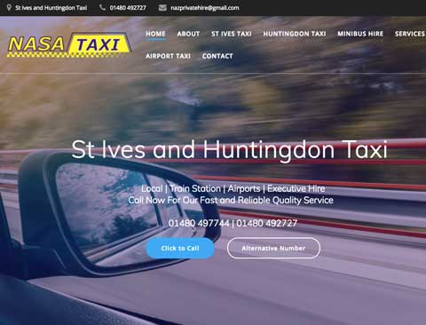 "Local Taxi Company [Wordpress Website] <a style=""color:#abedef;"" href=""https://nasataxis.co.uk"">https://nasataxis.co.uk</a>"