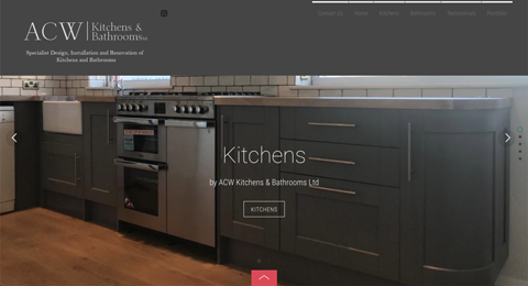 "A brochure website for ACW Kitchens and Bathrooms in St Ives | <a style=""color:#abedef;"" href=""https://acwkitchensandbathrooms.co.uk"" rel=""nofollow"" target=""_blank"">https://acwkitchensandbathrooms.co.uk</a>"