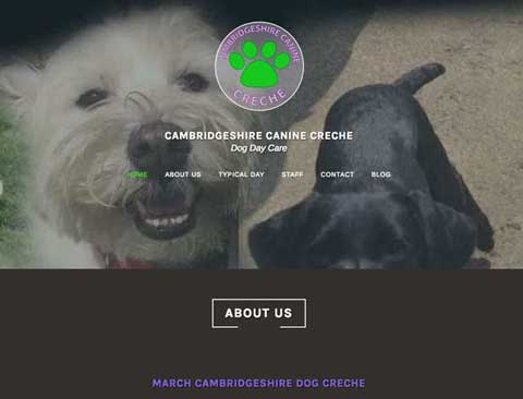 Cambridgeshire Canine Creche [Brand Design and Wordpress Website]