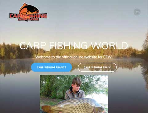 "Carp Fishing World [Wordpress Website] <a style=""color:#abedef;"" href=""https://carpfishingworld.com"">https://carpfishingworld.com</a>"
